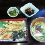 富楽寿司 - 料理写真:穴子定食