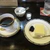 珈琲豆や Viento - 料理写真:ブレンド♯9と自家製レアチーズケーキ