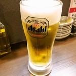 ちらん - 生ビール