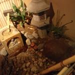 水琴茶堂 - 入り口にある水琴窟