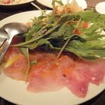 バイロンキッチン - 金目鯛のカルパッチョ