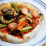 jicca - ランチ 旬野菜pizza