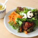 jicca - ランチ セットサラダとスープ
