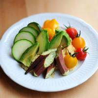 jicca - 生野菜とひよこ豆ディップ