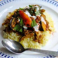 jicca - ランチ 豚肉と野菜のドライカレー