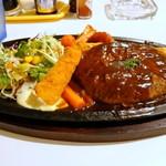 くちなし亭 - 料理写真:ハンバーグセット980円