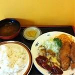 キッチン  ベル - 本日のランチ650円 安い!
