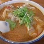 チノス - ブートジョロキアハバネロワンタン麺(ハーフ)