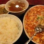 中国料理 安泰楼 - 麻婆豆腐定食