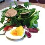 Resutoranyamanekoken - 前菜 サマートリュフのサラダ