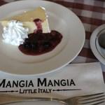 マンジャ マンジャ - ニューヨーク・チーズケーキ・セット