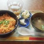島たぁーち - にんじんシリシリ丼¥500