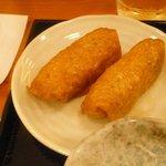 21143808 - ランチは、全食いなり寿司2個付き(^_^)v