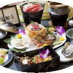 玄武風柳亭 - 夕食一例
