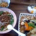 愛華飯店 - 料理写真:ランチセット580円