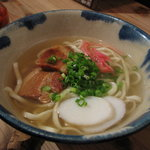 オーガニックキッチンFarve - 沖縄そば750円