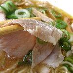 イベリコラーメン 小倉優子 - イベリコ豚の叉焼