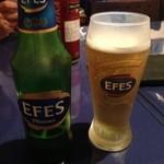 アロヒディン - 2013年9月7日 トルコのエフェスビール 白