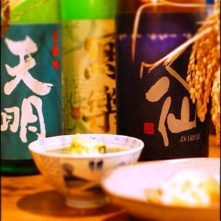 【和食×日本酒】日本各地より厳選した日本酒が楽しめるお店★