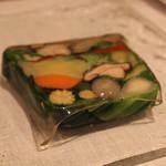 レザンファン ギャテ - テリーヌ (契約農家より取り寄せた、20種類の野菜)