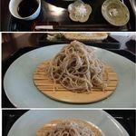 手打ち蕎麦 かね井 - 荒挽きそば(10割蕎麦)手打ち蕎麦 かね井(京都市)食彩賓館撮影