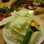 はづ木 - 焼野菜(小)