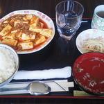 食べ笑い - 麻婆豆腐定食¥500