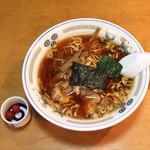 びぜん亭 - 支那そば と 梅干し (2013/09)