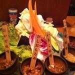 21161813 - 野菜もり 量が多い!