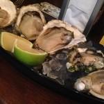 Oyster Bar MABUI - 別の日牡蠣3種盛…別の日