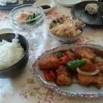 居酒屋 てん心 - 料理写真:酢豚定食