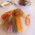 21163487 - 涼麺とタレ