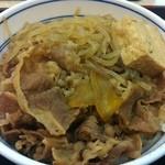 21163571 - 2013.2.25 ①牛鍋丼並つゆだく