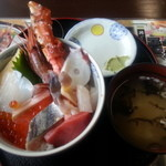 とりあえず逢海 - 逢海丼(大)全景