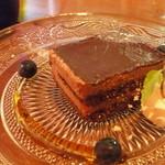 リンコントロ - 本日のデザート(チョコケーキ)