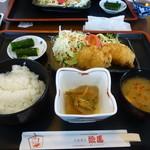 絵馬 - 帆立フライ定食