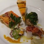 リストランテ ラヴィータ - 前菜盛合せ