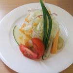 つばめ食堂 - 前菜 サラダ