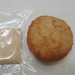 ひつじ - 発芽玄米ドーナツ 小豆、丹波黒豆きな粉