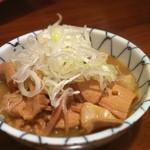 まこちゃん - 牛モツ煮込み豆腐入り 550円