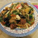 キッチン さわで夢屋 - 料理写真:あんかけ焼きそば 大皿(一人前・1500円)