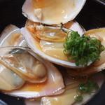 市場食堂 さかなや - 根室産『白貝酒蒸し』¥700