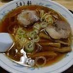 三日月軒 - ラーメン(小)500円
