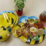 250Nikomaru Honey Cafe Boom Boom - キッズプレート