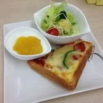 250Nikomaru Honey Cafe Boom Boom - ピザトースト