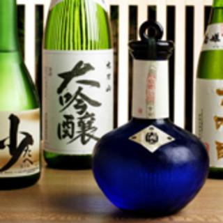 富山の地酒など名酒と共に美味をお楽しみください♪