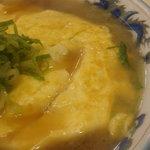 ラーメン藤 - 天津麺 アップ