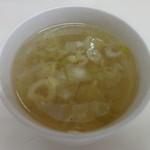 スパゲティ マルス - 日替りスープ セルフです。