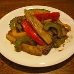 ビストロでるぴっぽ - 夏野菜の柚子胡椒