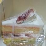 パティスリー・ショコラトリー サンニコラ - いちじくのショートケーキ